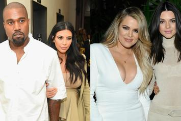 "Kanye West & The Kardashians To Face Off On ""Family Feud"""