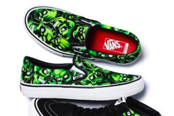 Supreme & Vans Debut Skull-Print Collaboration