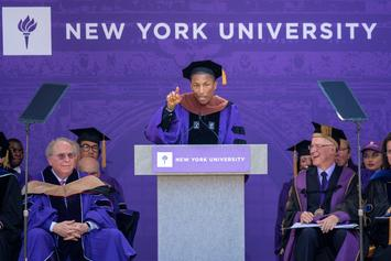 Watch Pharrell Deliver The NYU Commencement Speech
