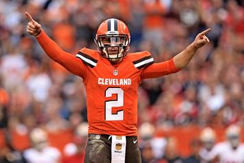Johnny Manziel Signs Deal With The Spring League