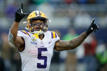 "Derrius Guice Says NFL Team Asked If He ""Likes Men"" At Combine"
