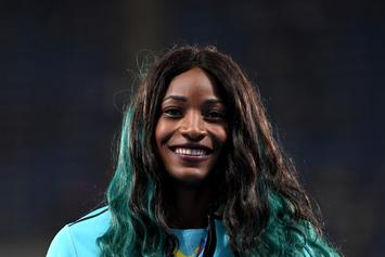 Bahamas' Shaunae Miller Wins Gold In 400M Final By Diving Across The Finish Line