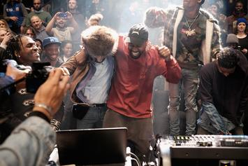 """Migos, Lil Yachty, Big Sean, Vic Mensa & Tyler The Creator Spotted Working With Kanye West On """"Turbo Grafx 16"""""""
