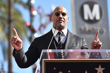"""Los Angeles Lakers Receive """"Inspirational Message"""" From The Rock"""