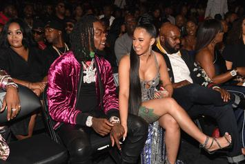 """Cardi B Is Obsessed With Offset's """"Walk It Talk It"""" Video Look"""