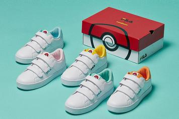 Pokemon x FILA Sneaker Collection Unveiled