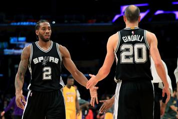Manu Ginobili Doesn't Believe Kawhi Leonard Will Return This Season
