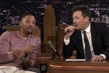 "Will Smith & Jimmy Fallon Perform ""Fresh Prince"" Theme Song On ""The Tonight Show"""