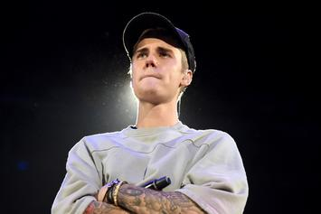 Justin Bieber Chops It Up With Homeless Couple On Beverly Hills Sidewalk