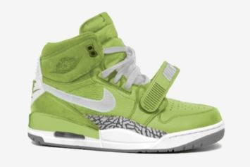 """Don C x Jordan Legacy 312 To Release In """"Ghost Green"""" Colorway"""