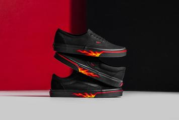 """Vans """"Flame Wall"""" Collection Available Now"""