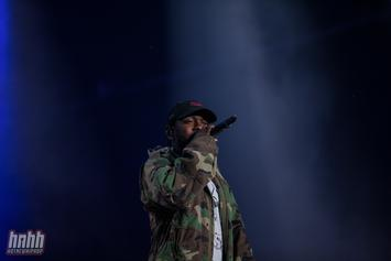 """Kendrick Lamar Speaks On Being Inspired By Kanye West's Marketing For """"New Slaves"""""""