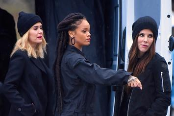 """Ocean's 8"" Trailer Showcases Rihanna & Sandra Bullock As Criminal Masterminds"