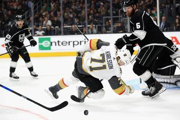 The Vegas Golden Knights Beat The Los Angeles Kings In Epic Game