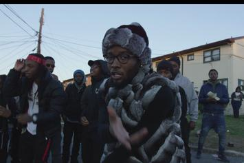 "Shy Glizzy Mobs Outside The D.C. Projects In New Video For ""First 48 Pt. 2"""
