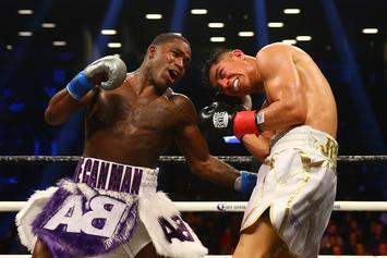 Adrien Broner Throws A Tantrum After Majority Draw Decision