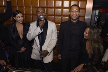 Kanye West Curves John Legend's Intervention Attempt