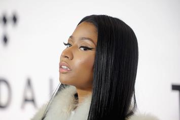 Nicki Minaj Twerks Before Drake Show In Paris