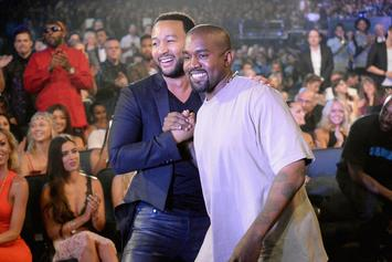 """John Legend Says Kanye West """"Sees Certain Aspects Of Himself In Trump"""""""