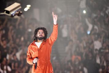 """J. Cole's """"K.O.D"""" On Pace For The Biggest Streaming Week For An Album In 2018"""