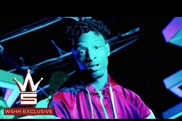 """21 Savage & SahBabii Party With Some Alien Girls In """"Outstanding"""" Video"""