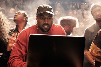 """Watch Kanye West & T.I. Work On """"Ye Vs The People"""" In The Studio"""
