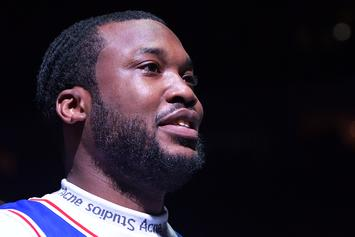 "Meek Mill Returns To Society By Copping Some Flashy ""DC"" Ice"