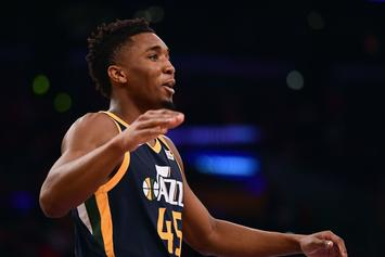 "Donovan Mitchell On Epic Dunk: ""I Just Happened To Be Up There"""
