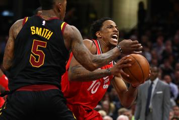 DeMar DeRozan Benched For Entire 4th Quarter In Game 3