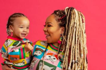 "Tiny Talks Motherhood & Balancing A Career For ""Rolling Out"" Magazine"