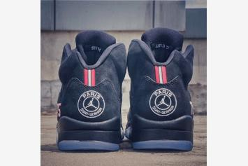 """Paris Saint-Germain"" Air Jordan 5 Rumored To Release: First Look"
