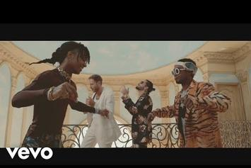 """Rae Sremmurd Throw Mansion Party With Burns & Maluna In """"Hands On Me"""" Video"""
