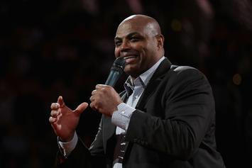 Charles Barkley Throwing A Baseball Might Be Worse Than His Golf Swing