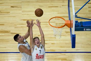 """Luka Doncic """"Not Sure"""" If He'll Leave Real Madrid For 2018 NBA Draft"""