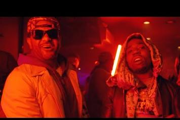 "Jim Jones & YFN Lucci Take Over The VIP In ""Gotta Play The Game"" Video"