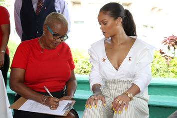 Rihanna Salutes Mia Mottley, First Woman Elected Prime Minister Of Barbados