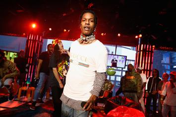 """A$AP Rocky Details How He & Skepta Tripped On LSD While Making """"Praise The Lord"""""""
