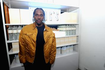 "Pusha T Talking To Producer Who Accused Drake of Stealing ""Scary Hours"" Artwork"
