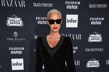 """Amber Rose Is All Booty For Seductive """"Soccer Mom"""" Photo Shoot"""