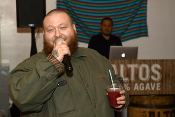 Action Bronson Gets Massive Tattoo On The Back Of His Head