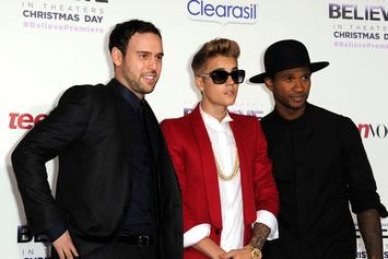"""Justin Bieber """"N-Word"""" Lawsuit Labelled As Blackmail By Scooter Braun"""