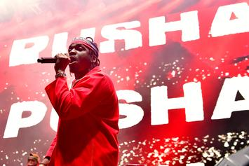 """Pusha T Releases Video For """"If You Know You Know"""" Exclusively On Spotify"""