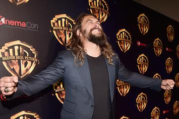 """Aquaman"" Actor Jason Momoa Looks Godly In New Movie Photos"