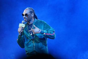 Snoop Dogg Shows Off Impressive Athleticism With Jumping Kick