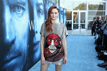"""Sophie Turner Explains Her Spoilery """"Game Of Thrones"""" Tattoo"""