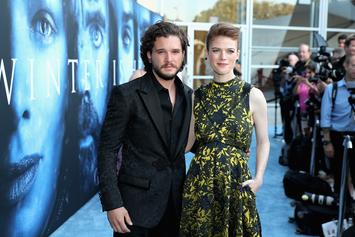 """Game Of Thrones"" Stars Kit Harringon & Rose Leslie Married In Scotland"