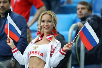 "Russia's ""Hottest World Cup Fan"" Denies Report That She's A Porn Star"