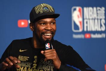 Report: Kevin Durant To Sign 2-Year,  $61.5M Deal With Warriors