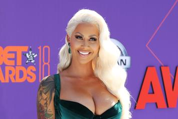 Amber Rose Preaches Body Positivity With Nude Fortune Photoshoot