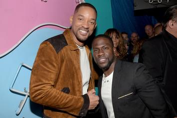 Will Smith Is Down To Make A Movie With Kevin Hart By Next Summer